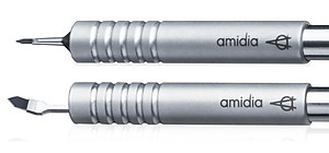 Amidia Nano Diamond Knives - Metal Handle (per Unit)